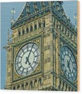 Big Ben 2 Wood Print