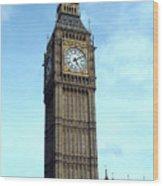 Big Ben in London England Wood Print