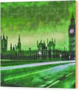 Big Ben London - Da Wood Print