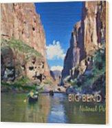Big Bend Texas National Park Mariscal Canyon Wood Print