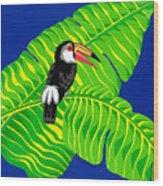 Big Billed Bird Wood Print