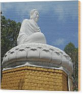 Big Buddha 2 Wood Print
