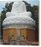 Big Buddha 3 Wood Print