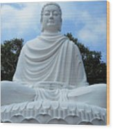 Big Buddha 4 Wood Print