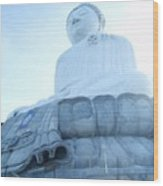 Big Buddha Wood Print