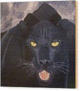 Big Cat IIi Wood Print