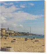 Big Corona Beach Wood Print
