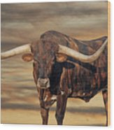 Big Dawg Wood Print