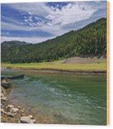 Big Elk Creek Wood Print