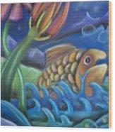 Big Fish Wood Print