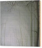 Big Foggy Day Wood Print