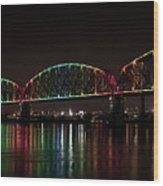 Big Four Bridge 2215 Wood Print