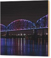 Big Four Bridge 2217 Wood Print
