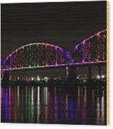 Big Four Bridge 2219 Wood Print