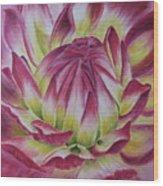 Big In Pink Wood Print