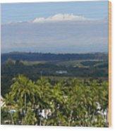 Big Island, Hilo Bay Wood Print
