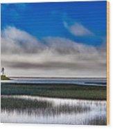Big Lagoon Park California Wood Print