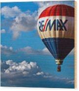 Big Max Re Max Wood Print