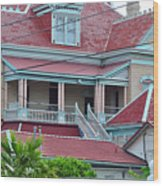 Big Money Moves Into Key West  Wood Print