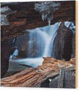 Big Pine Creek Wood Print