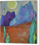 Big Rock Candy Mountain Wood Print