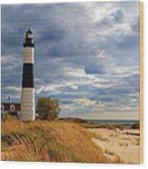 Big Sable Lighthouse #2 Wood Print