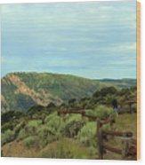 Big Skies Of Colorado Wood Print