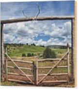 Black Mountain Ranch Wood Print