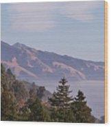 Big Sur, Ca 3 Wood Print