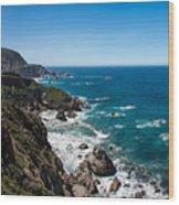 Big Sur Ca Wood Print