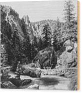 Big Thompson Canyon Wood Print