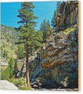 Big Thompson Canyon Pre Flood Moment 2 Wood Print