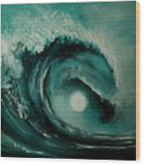 Big Wave Wood Print