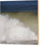 Big Waves Wood Print