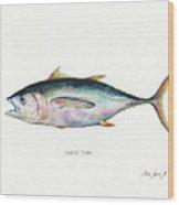 Bigeye Tuna Wood Print