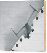 Biggest Airplane In The World Antonov An-225 Mriya  Wood Print