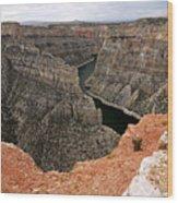 Bighorn Canyon Wood Print