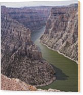 Bighorn Canyon Wood Print