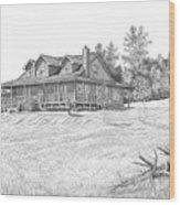Bigness House Wood Print