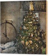 Bike - I Wanna Bike For Christmas  Wood Print