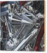 Bike-7 Wood Print