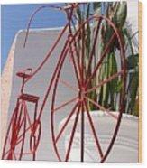 Bike Art Wood Print