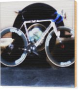 Bike Glamor  Wood Print