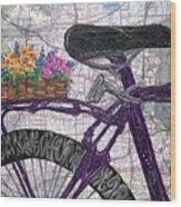 Bike Like #2 Wood Print