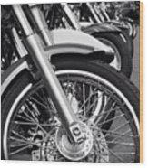 bike Riders  Wood Print