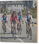 Bikers Wood Print