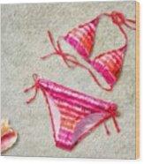 Bikini - Id 16218-130715-5870 Wood Print