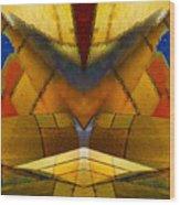 Bilateral Colors Wood Print