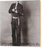 Bill Bennett, Wild West Detective Wood Print