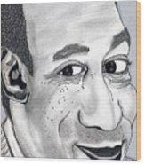 Bill Cosby Wood Print